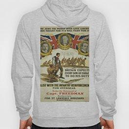 Vintage poster - British Recruiting Hoody