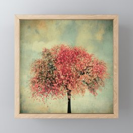 In our hearts there's always spring Framed Mini Art Print