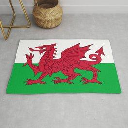Welsh Flag Rug