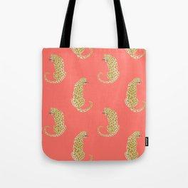 Coral Tigers Tote Bag
