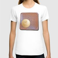 asian T-shirts featuring Asian Pear by Lyssia Merrifield