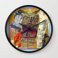 ali gulec Wall Clocks featuring Qinhai Ali by Ira Carter