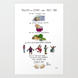 Cure what Ails You Art Print