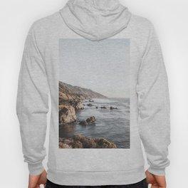 Big Sur   Monterey California Surfers Paradise Ocean Beach Landscape Wanderlust Photograph Hoody