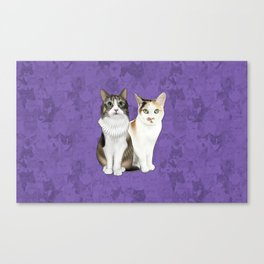 Lupin and Tonks Canvas Print