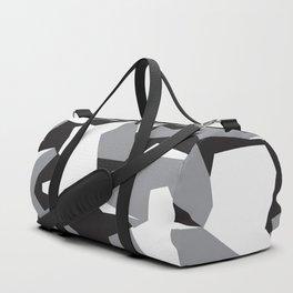 Camouflage Splinter Pattern Grey Duffle Bag