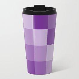Four Shades of Purple Square Travel Mug