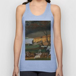 Noah's Ark by Edward Hicks Unisex Tank Top