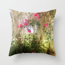 Somewhere In New Orleans Throw Pillow
