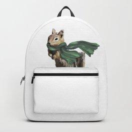 Winter Chipmunk Backpack