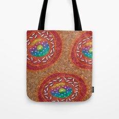 Orange Organism Tote Bag