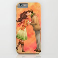 Cold Weather Kiss iPhone 6s Slim Case