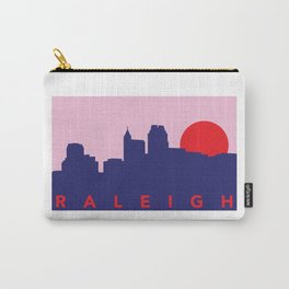 Raleigh Night Skyline Carry-All Pouch