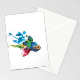 COLORFUL FISH 2 Stationery Cards