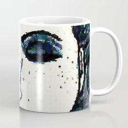 She dreams in shades of blue Coffee Mug
