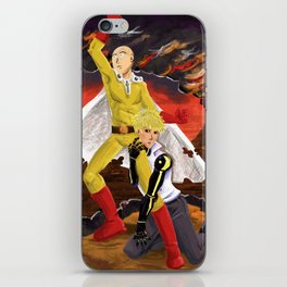 One Punch iPhone Skin
