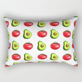 Guacamole Salad Rectangular Pillow