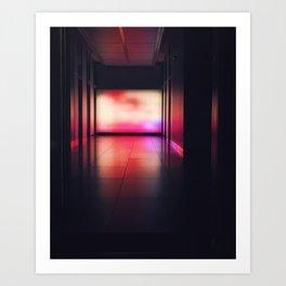 Radient Art Print