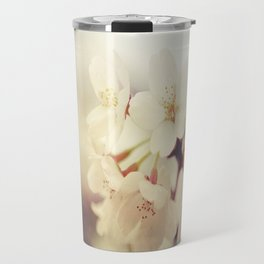 White Poppy Grudge Travel Mug