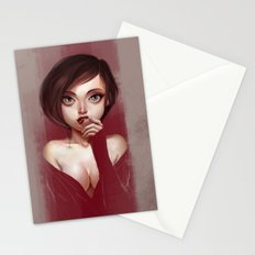 Oh, Velveteen Stationery Cards