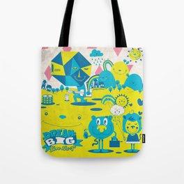 Live Large Tote Bag