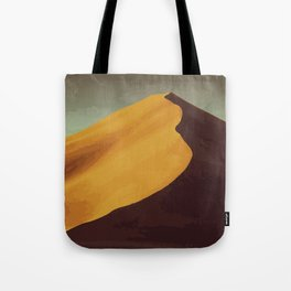Athabasca Sand Dunes Poster Tote Bag