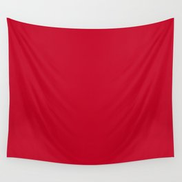 NEW YORK FASHION WEEK 2019- 2020 AUTUMN WINTER CHILLI PEPPER RED Wall Tapestry