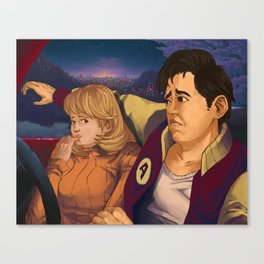 The Make Out Point Canvas Print