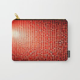 Red Space Pixels Carry-All Pouch