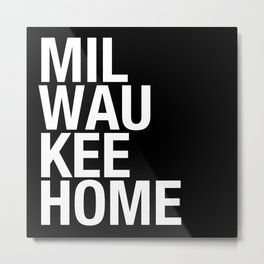 MilwaukeeHome Metal Print