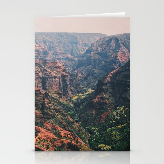 Vintage Hawaii Canyon Stationery Cards