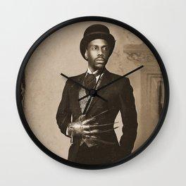 Boogie Horror: 1800's - Sepia Wall Clock