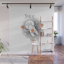 Space love. Wall Mural