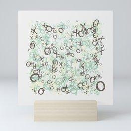 xoxoxo Mini Art Print