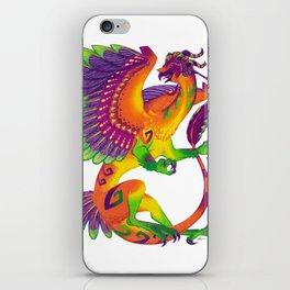 Oaxacan Barn Owl Dragon iPhone Skin