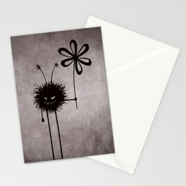 Evil Flower Bug Stationery Cards