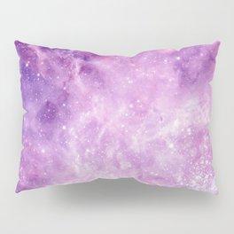 Purple Galaxy Pillow Sham