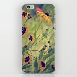 Golden Garden iPhone Skin