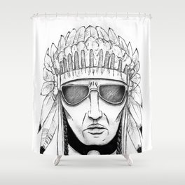 The Native Shower Curtain