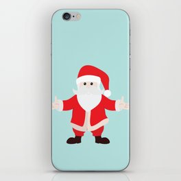 Christmas Santa Claus is Coming to Hug You iPhone Skin