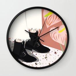 Fancy Feet Wall Clock