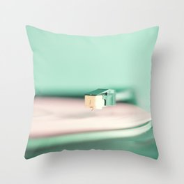 Soft Record Throw Pillow
