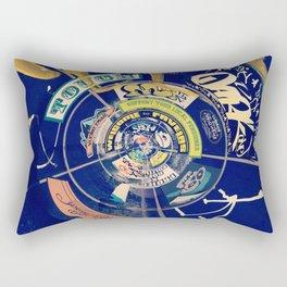 Favelas tags Rectangular Pillow