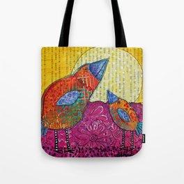 Tweet & Tweedle Tote Bag