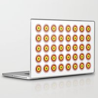 techno Laptop & iPad Skins featuring techno abstract by laika in cosmos