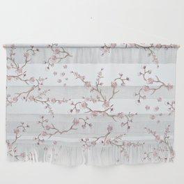 SAKURA LOVE - GRUNGE WHITE Wall Hanging