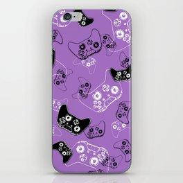 Video Game Lavender iPhone Skin