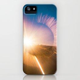 Jockey's Ridge at Sunset - Holga film photograph iPhone Case