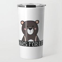 Bears For Life Travel Mug