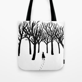 A Tangle of Trees Tote Bag